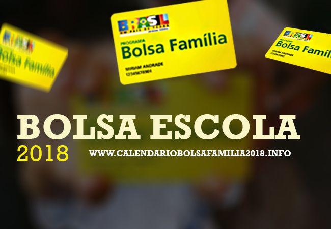 Bolsa Escola 2018