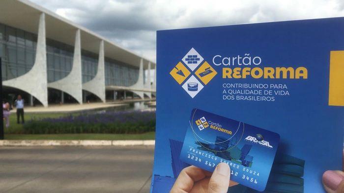 Cartão Reforma 2018