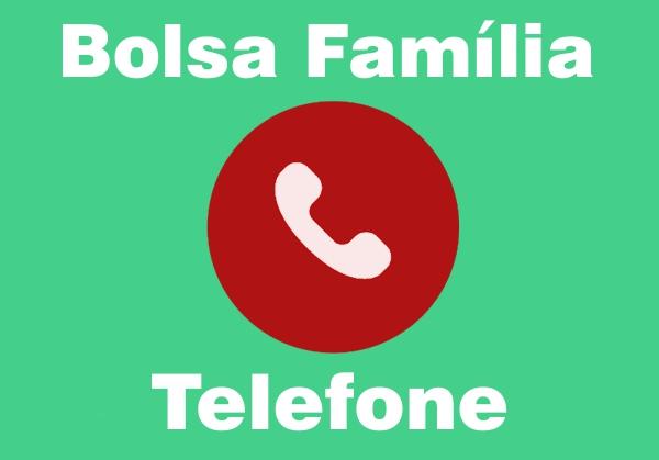 Telefone Bolsa Família 2020